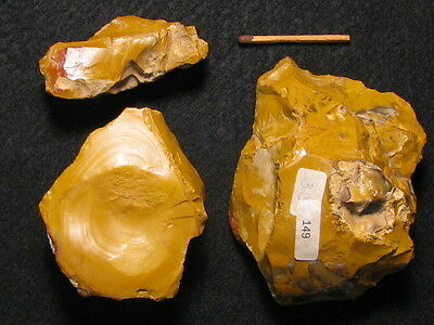 55.000Y.o: Ace 3 Jaspis Artifacts Neanderthal Man Paleolithic Mousterian Europe