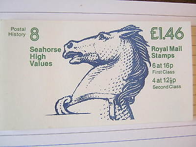 1983 £1.46 Postal History Series Booklet FO1B