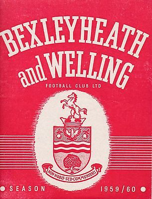BEXLEYHEATH & WELLING  v  GUILDFORD CITY ( SLC ) 1959/0.