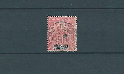 Madagascar - 1896-99 Yt 38 - Timbre Obl. / Used
