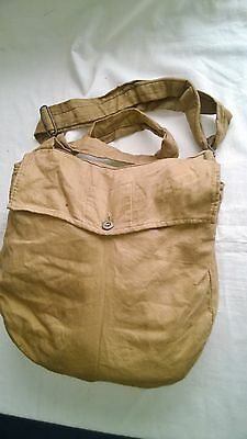 Ww2 British  Civillian Private Purchase Gas Mask Carrying Bag & Strap.