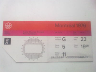 Ticket Olympic Games MONTREAL 23.07.1976 - BOXING (19:00)
