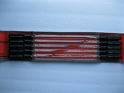 Snap On SSDE100B 10 Pc Screw Driver Set Electronic Thin Blade with Case