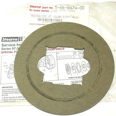Up To 2 New Friction Disc Replacement Kits For 87,000 Disc Brakes 5-66-8474-00
