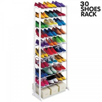 Scarpiera 30 paia di scarpe salvaspazio portascarpe Shoes Rack