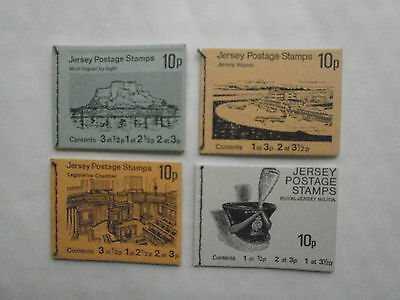 4 X Jersey Stitched Stamp Booklets