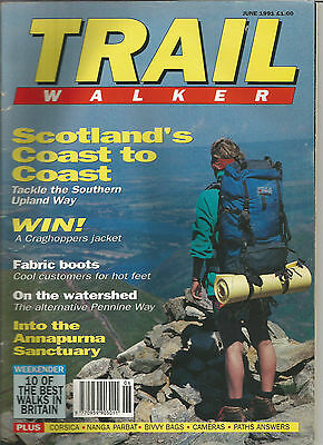 Trail June 1991 Live For The Outdoors.