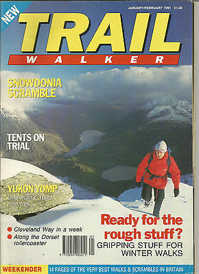 Trail January/february 1991 Live For The Outdoors.