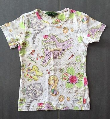 Tee Shirt Fille OILILY 5-6 Ans