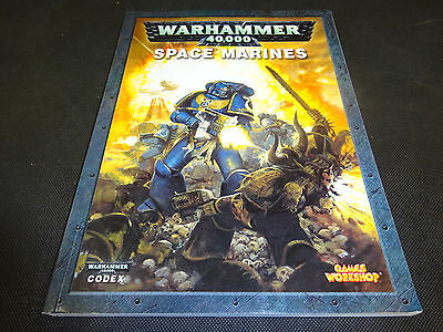 Warhammer 40k 40,000 Space Marines Book