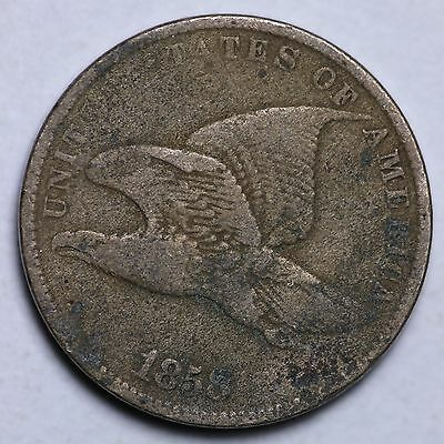 1858 S.L. Flying Eagle Cent Penny CHOICE FREE SHIPPING E100 CN