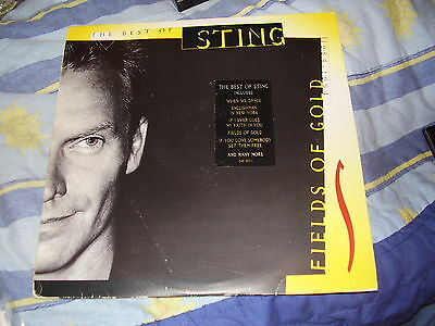 Sting - Fields of Gold (The best of) - RARE Double Vinyl LP album 1994