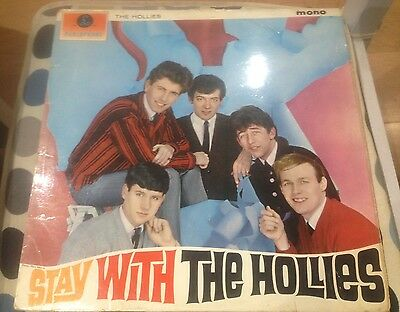 Hollies - Stay With The Hollies 1964 LP Parlophone PMC 1220 Mono 1st press VG+