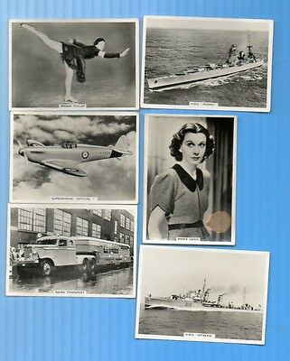 Ardath  Photocards Rare 'gs' Channel Islands Series 6 Different G/vg