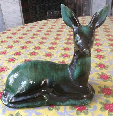 Vintage Blue Mountain Pottery Seated Deer