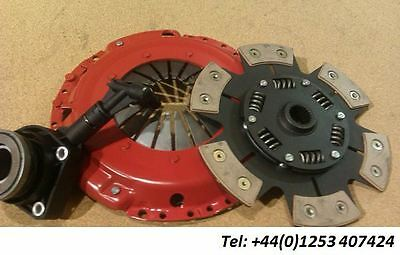 Vauxhall Astra 2.0 Turbo & Gsi 16V Heavy Duty 6 Paddle Clutch With Csc