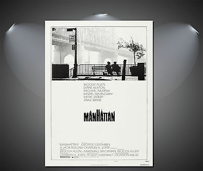 Manhattan (Woody Allen) extremely large repro vintage movie poster (100 x 69 cm)