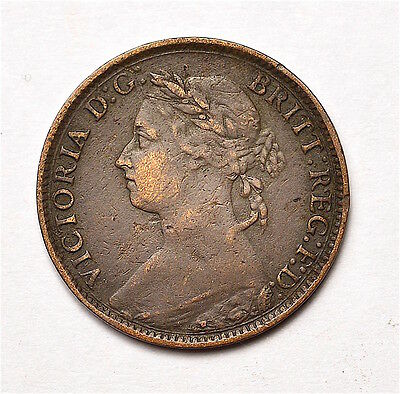 Victoria 1887 Farthing  ®155-A30