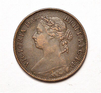 Victoria 1884 Farthing  ®155-A27