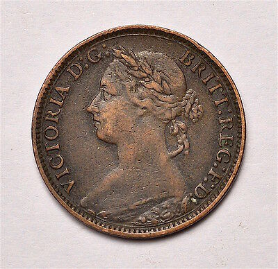 Victoria 1881H Farthing  ®155-A24