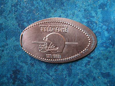 PRO FOOTBALL HALL OF FAME EST 1963 Elongated Penny Pressed Smashed 4