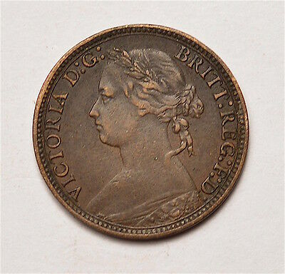 Victoria 1880 Farthing  ®155-A22