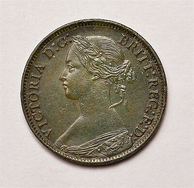 Victoria 1875 Farthing  ®155-A17