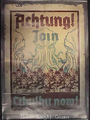 Modiphius Entertainment Achtung! Cthulh Promo Poster - Join Cthulhu Now Zip VG+