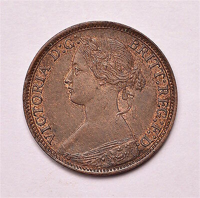Victoria 1868 Farthing  ®155-A12