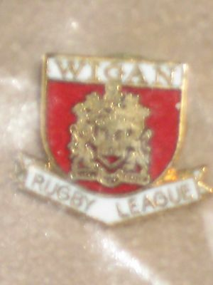 RUGBY LEAGUE BADGE : Wigan FC Rugby League - Official Club Badge