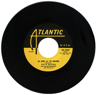 """Ruth Brown & Her Rhythmakers  """"as Long As I'm Moving""""  R&b Classic   Listen!"""