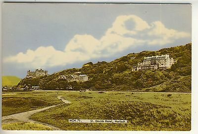 A Frith Card of St. Davids Hotel, Harlech. Merionethshire