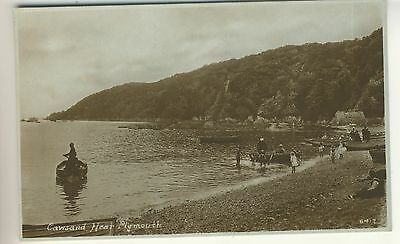An Early Real Photo Post Card of Cawsand, Near Plymouth. Devon