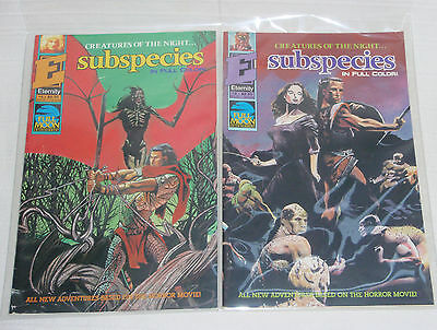 Subspecies Creatures of the Night 3 and 4 - Eternity Vampire Horror
