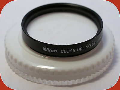 Nice Nikon Close-up No. 3T Japan 52mm 1.5 Diopter double-element filter lens
