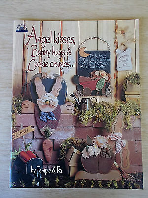 Angel Kisses Bunny Hugs & Cookie Crumbs~Temple & Pa~Folk Art Projects~Whimsies