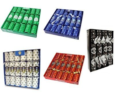 Official Football Club - Luxury CHRISTMAS CRACKERS Set (Xmas/Gift/Dinner)