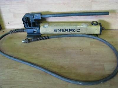 Enerpac  hand pump with hose and fitting