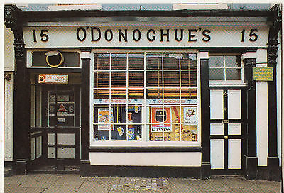 O'donoghue's Pub Merrion Row Dublin 1981 Used Postcard With 14P Welsh Stamp