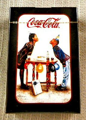 """Black Coca-Cola Playing Cards """" Retired """""""