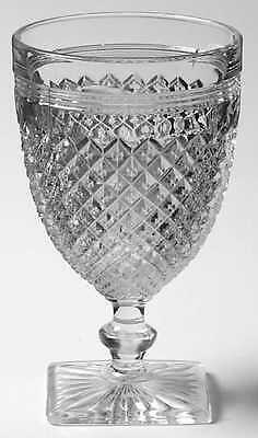 Anchor Hocking MISS AMERICA CLEAR Water Goblet 6114