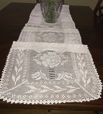 Table Runner Handmade Traditional Antique High Quality