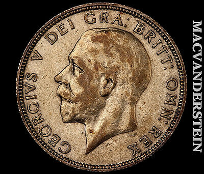 1936 George V Florin- Scarce !! Betterd Date !! .1818 Asw Silver !! #m2578