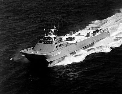 1985 MR US Navy Surface Effect Ship SES-200 4x6 Photo