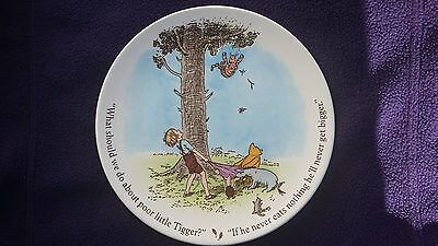 Vintage Winnie The Pooh Plate Excellent Condition Reed & Barton