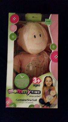 Mommy Time Learning Doll with Timer NIB Great Gift