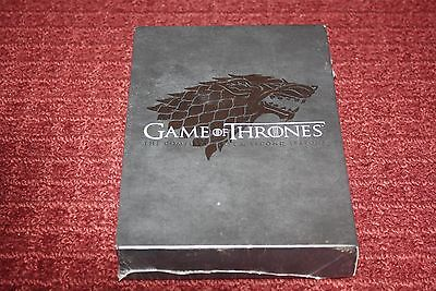Game of Thrones: The Complete First  Second Seasons (DVD, 2014, 10-Disc Set)