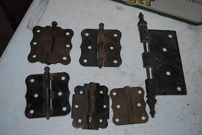 Vintage Asst Hardware Hinges From Farm