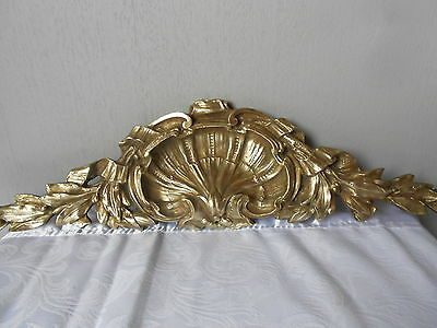 Antique French Bronze Architectural PLAQUE PEDIMENT FRONTON  LOUIS XV style