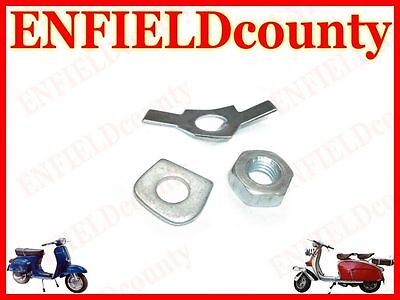 Ravespa Gearbox External Tab Washer Kit With Nut Sprint Rally Old Vespa @cad